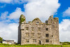 REPUBLIC OF IRELAND-LEAMANEH-CASTLE RUINS