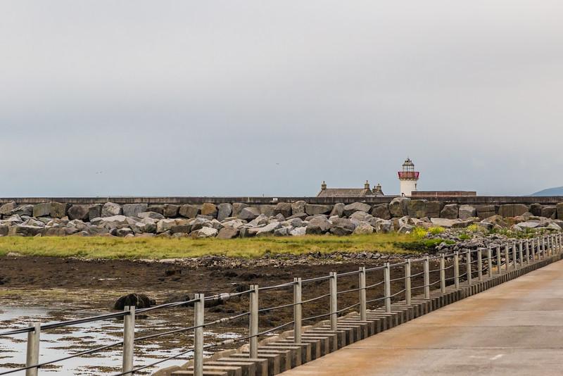 REPUBLIC OF IRELAND-GALWAY-MUTTON ISLAND LIGHTHOUSE