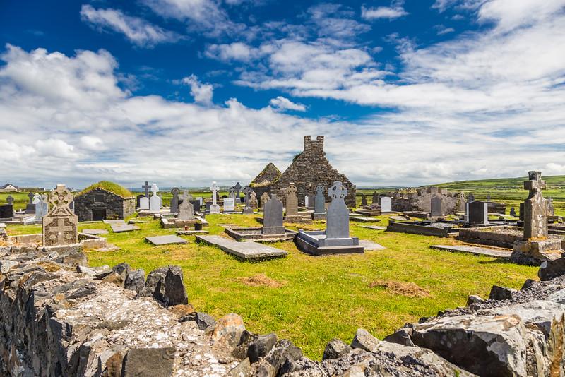 REPUBLIC OF IRELAND-MONNEN CHURCH AND CEMETERY