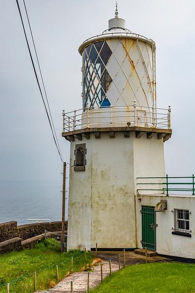 NORTHERN IRELAND-WHITEHEAD-BLACKHEAD LIGHTHOUSE