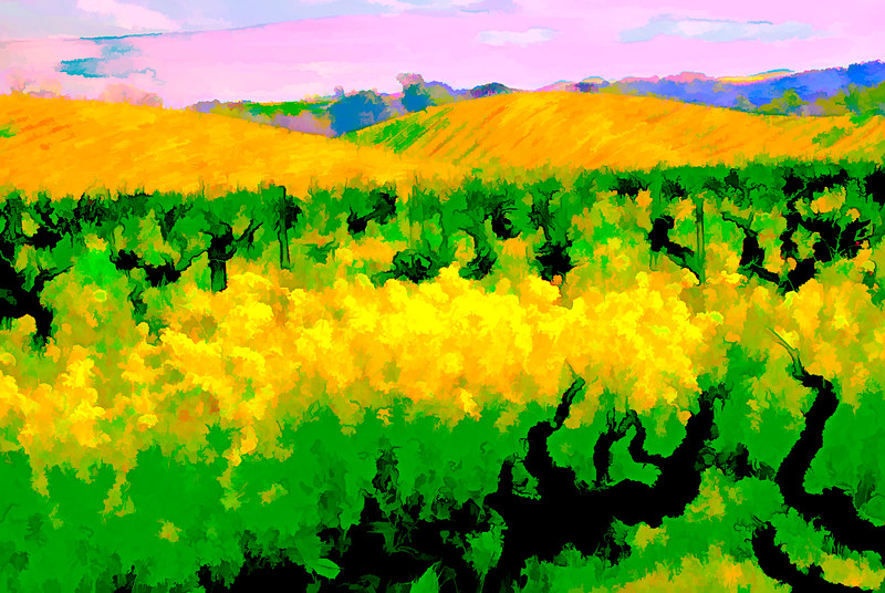 ART - Vineyard Impressions - Spring #7