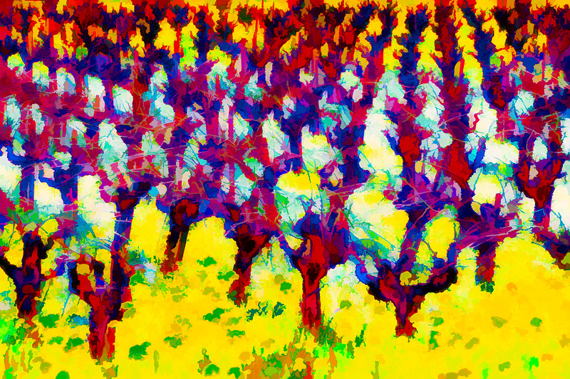 ART - Vineyard Impressions - Spring #4