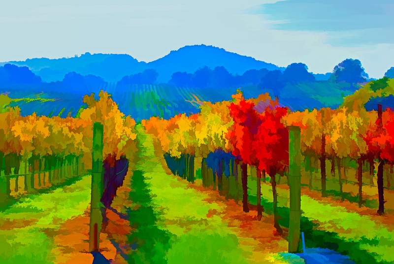 ART - Vineyard Impressions - Autumn #16
