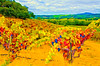 ART - Vineyard Impressions - Autumn #102a - 2012