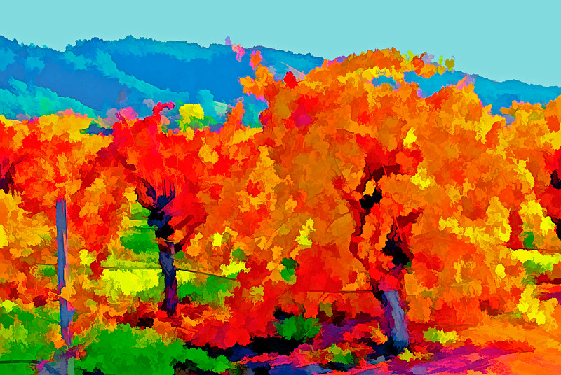 ART - Vineyard Impressions - Autumn #3