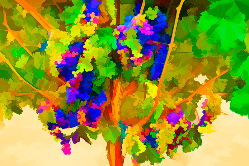 ART - Vineyard Impressions - Summer #6