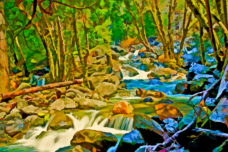 ART-Bridalvail Creek below falls #1