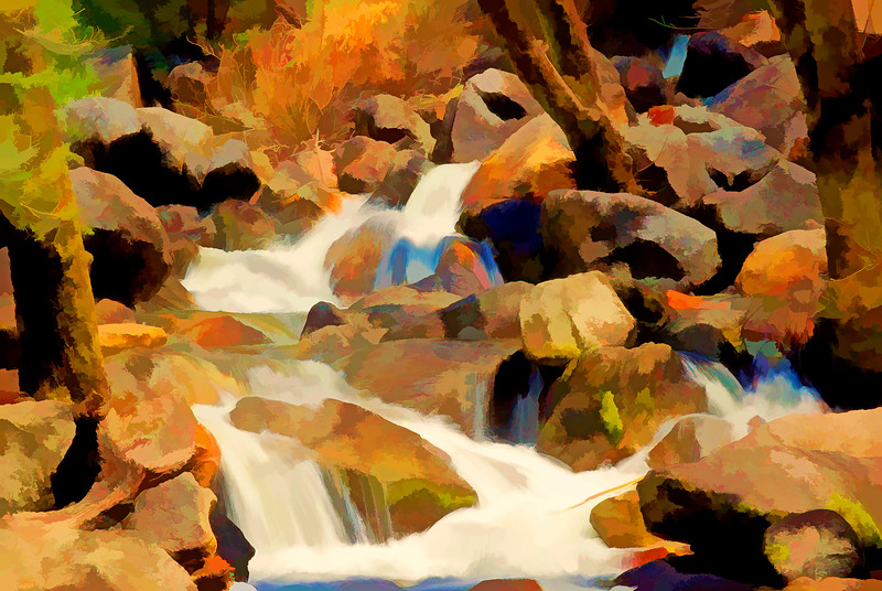 ART-Bridalvail Creek below falls #2