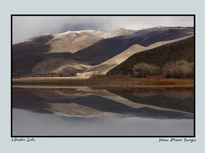 Washoe Lake Reflections