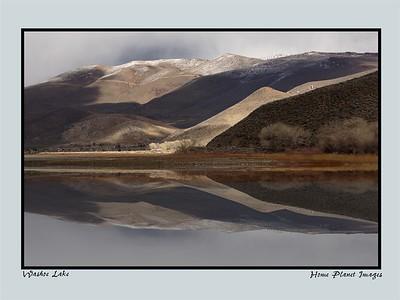 Washoe Lake Reflections
