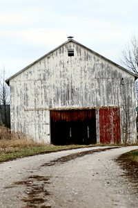 Old Tabacco Barn, Forks of Elkhorn, Kentucky