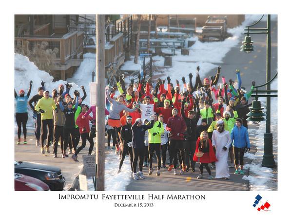 Impromptu Half Marathon - Fayetteville