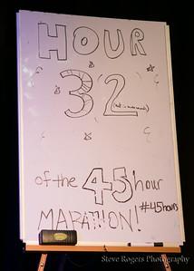Hour 32 Franz and Dave - Pine Falls - The Hideout 45 Hour Marathon