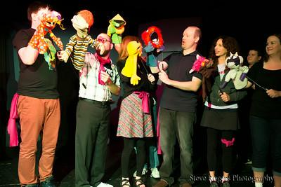 Hour 33 Puppet Improv Project - The Hideout 45 Hour Marathon