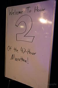 47 Hour Marathon Hour 2