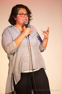 Vanessa Gonzalez, Host - Austin Sketch Fest 5/27/2017