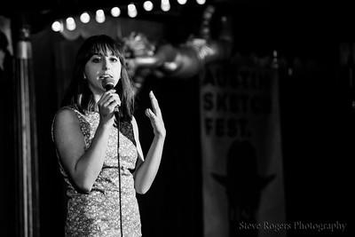 Christina Parrish, Host/Stand Up - Austin Sketch Fest 5/26/2017