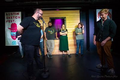 Austin Sketch Fest 2018 Victrola! 5/23/2018