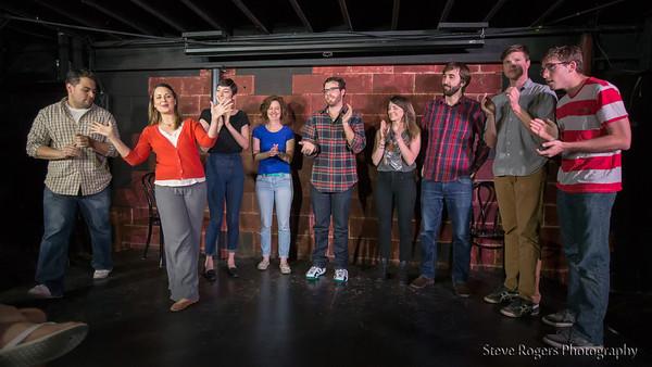 Collective Alibi perform at Coldtowne Theater