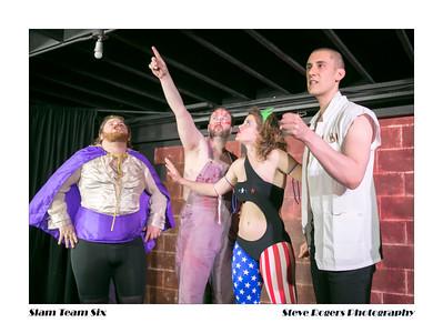 SLAM TEAM SIX - WRESTLING/COMEDY/CARTOON 4/5/2014