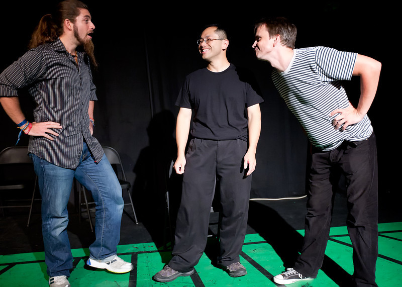 Abbas Amirabadi, Andreas Fabis, Menelaos Prokos, Leng Wong and Gene Zhou will take you on a research trip to quintessential American sights and events as part of their improv citizenship test. The results – which hopefully will unearth some hitherto unknown facts - will be presented to the audience interactively at the end of the show.