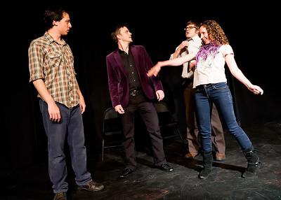 Merlin Works 601 Graduation show Heist Reunites GNAP! Saturday Night 8 PM show
