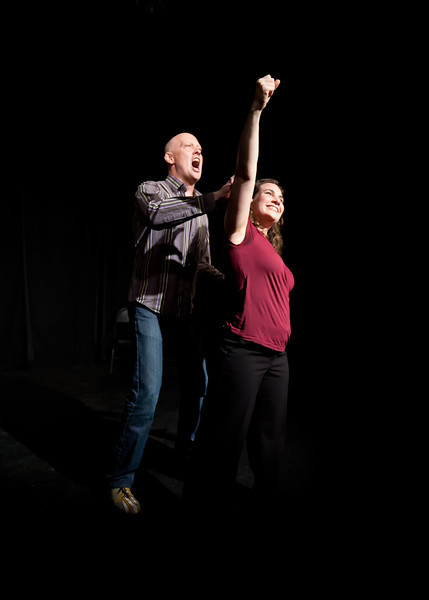 Get Up, starring the founders of Gnap! Theater Projects and Merlin Works, Shannon McCormick and Shana Merlin