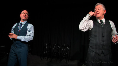 Three for All performs a special show for the Hideout Theatre