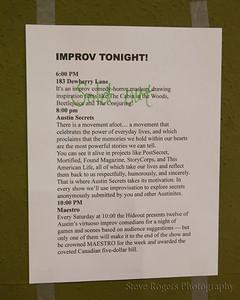 Austin Secrets Season 6 Opening night 3/5/16