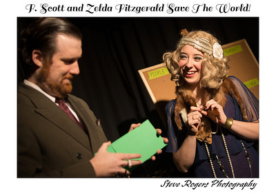 F. Scott and Zelda Fitzgerald Save The World! 4/28/2014