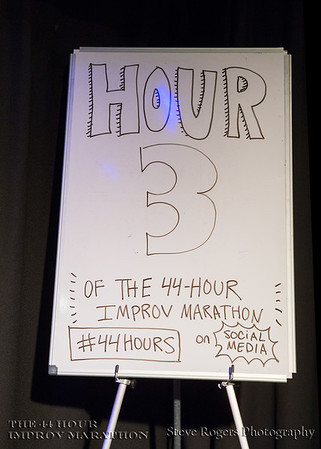 44 Hour Improv Marathon Hour 3 Start Trekkin'