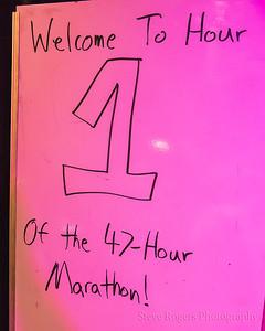47 Hour Marathon Hour 1