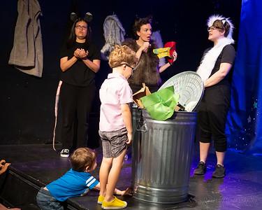 Hideout Kids presents Trash Critters 5/19/2019