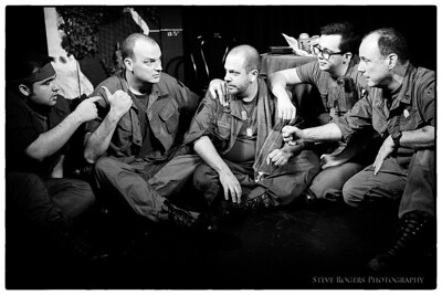 Bunker 13 is an improv group from Seattle that is coming down for the Improvised Play Festival. They do a completely improvised show set in the midst of the Vietname War. Fatigues, cammo, explosions, and letters from home are the order of the day