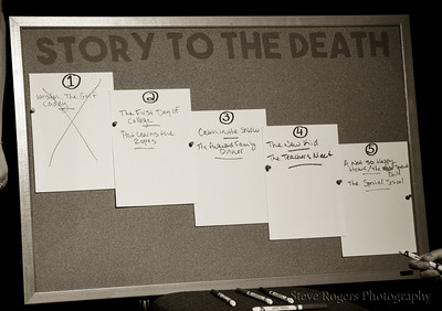 Story to the Death, 8/6/2016