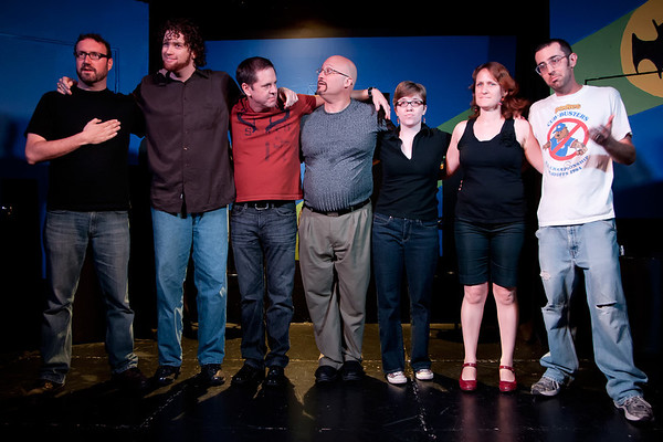 Level 5 Class Student Performance @The Hideout Theatre in Austin, Texas