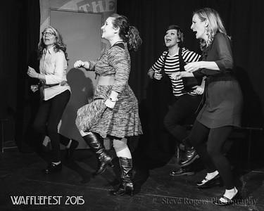 Girls Girls Girls - WaffleFest 2015