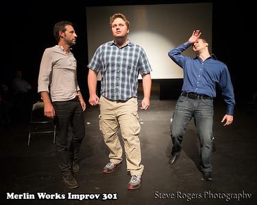 Merlin Works Improv 301 Graduation show 5/12/2013