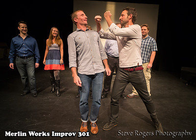 Merlin Works Improv 301 Graduation show 5/12/2013