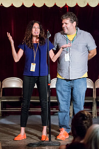 Dave & Rachel, hosts, OOB 9/1/2017 Spiderhouse