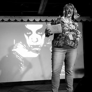 Amy Averett, Host, OOB 9/1/2017 Spiderhouse