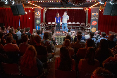 Dave & Rachel, hosts, OOB 9/1/2017 Spiderhouse