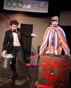 Out of Bounds Festival 2011: Magician vs. Clown 8/30/2011