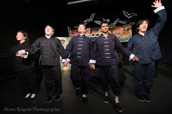 The Five Deadly Improvisers peform at Out Of Bounds Festival 2012