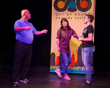 OOB 2016 The Lottery w/Impro Theater Improvised Jane Austen 9/5/2016