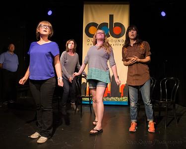 OOB 2016 The Lottery w/Impro Theater Improvised Jane Austen 9/5/2016