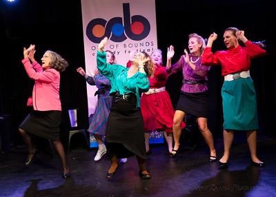 2018 OOB: Girls Girls Girls Improvised Musicals 8/30/2018