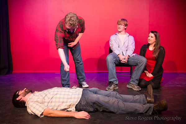 The Instituation 501 Class at the Monologue Jam
