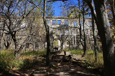 Remains of the Overlook Mountain Hotel