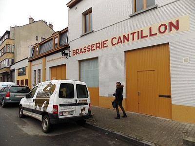 Day in Brussels - Cantillon Brewery